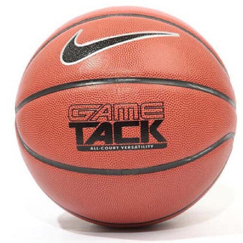 Nike 耐克 新款男子GAME TACK场外篮球耐克室内外 BB0451  PU耐磨篮球 水泥地篮球 弹性强、耐磨、防滑