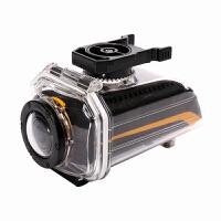 户外运动摄像机高清 骑行摄像机头盔/摩托车/自行车摄像机 黑黄 M
