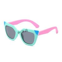 儿童软质偏光太阳镜新款男女孩墨镜宝宝太阳镜幼儿眼镜岁