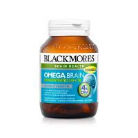 【网易考拉】【益智健脑】BLACKMORES 澳佳宝 4倍DHA无腥味深海鱼油 60粒/瓶