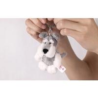 匙扣动物玩偶包包挂件毛绒公仔吊饰儿童玩具