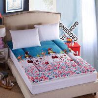 防潮床垫床褥子1.5米1.8m单人1.2海绵棉絮软垫被地铺垫一米二五