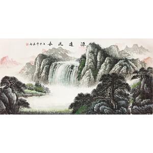 司道海《源远流长》著名画家
