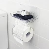 日本爱尚佳品厕纸架免打孔无痕贴卷纸架卫生间挂件马桶置物架塑料D3015
