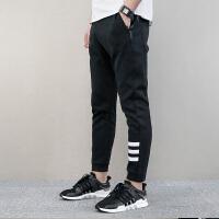 Adidas阿迪达斯 NEO 男子 运动长裤 休闲针织裤 BR8514