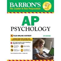 英文原版 巴朗AP心理学指南 第8版 Barron's AP Psychology, 8th Edition: Wit