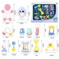 男孩手摇铃婴儿玩具0--3-6-12个月新生儿幼儿小孩女宝宝玩具1岁 早教益智玩具