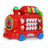 婴儿玩具火车幼儿童音乐早教0-1岁宝宝玩具电话机小孩