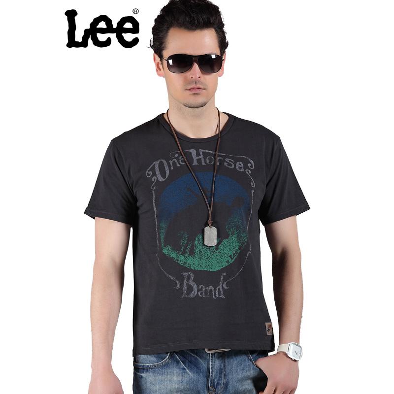Lee 【断码】男士短袖T恤 舒适棉质T恤 夏季简洁款棉质T恤 8622-5Y8A