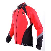 秋冬季抓绒骑行服长袖男女自行车防风上衣极光