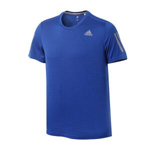 adidas阿迪达斯男装短袖T恤2018跑步运动服BP7429