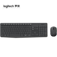 罗技MK235 MK270 无线键盘/鼠标套装/家用笔记本/台式游戏/薄无线键鼠 黑色