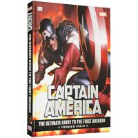 英文原版 DK漫威美国队长完全指南 电影画册设定集 Marvel Captain America The Ultima
