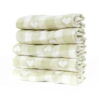 班杰威尔 纱布口水巾纯棉 婴儿洗脸毛巾新生儿用品宝宝小方巾儿童手帕手绢