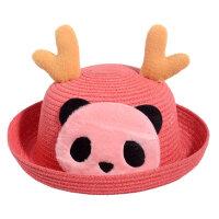 男孩冒个泡春夏季新款儿童遮阳帽子男女宝宝草帽时尚卡通太阳帽渔夫帽 启蒙早教益智 ,直接参考介绍里的尺寸就可以的