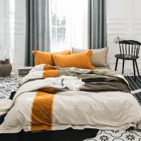 磨毛三四件套棉棉欧式床上用品1.8m床单双人被套简约床笠