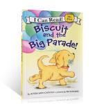 顺丰包邮 (99元5件)英文原版进口绘本 I Can Read Biscuit and the Big Parade