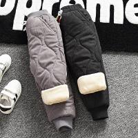 童装男童棉裤加绒冬装外穿儿童保暖裤宝宝休闲裤子婴儿长裤