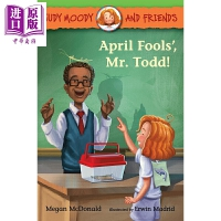 【中商原版】稀奇古怪小朱迪 愚人节 Judy Moody and Friends April Fools Mr. Tod