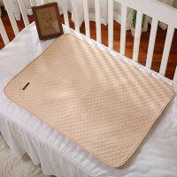 活力熊仔 新生婴儿尿垫环保透气有机彩棉宝宝隔尿垫防水防漏四季通用尿垫3d