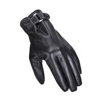 手套加厚保暖秋冬季中老年男士手套男冬天爸爸老年人皮质加绒手套