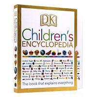 【满300-100】DK 儿童百科全书 英文原版 DK Children's Encyclopedia 新版全彩精装大开