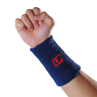 LP欧比篮球足球羽毛球乒乓球运动护腕 吸汗带护手腕擦汗带LP663 一对