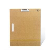 包邮a3画板绘图板画夹木画画夹板水彩绘画工具素描半开水粉漫画板一个装