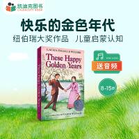 【99选5】美国进口 1944年纽伯瑞银奖 小木屋系列小说第八部:These Happy Golden Years 快乐的金色年代【平装】#