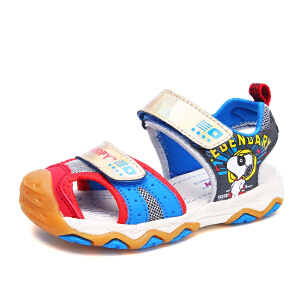 史努比童鞋新品夏季男童凉鞋宝宝机能凉鞋沙滩凉鞋