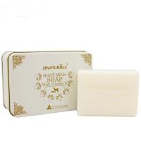 澳洲JTNATURALS羊奶皂玫瑰天竺葵精油手工皂天然手工洁面皂补水保湿洗脸皂100g