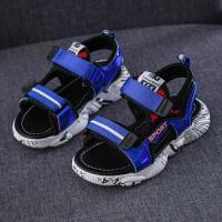 儿童凉鞋男童夏季中大童软底防滑男孩学生沙滩鞋
