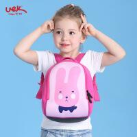 uek儿童书包 幼儿园4-7岁男女孩卡通可爱幼儿背包双肩包