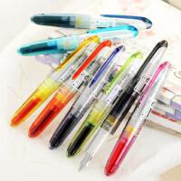 /PILOT 元气小钢笔日本百乐//SPN-20F钢笔8色入透明迷你钢笔