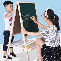 可升降画架支架式家用白板涂鸦写字板儿童宝宝画板双面磁性大黑板