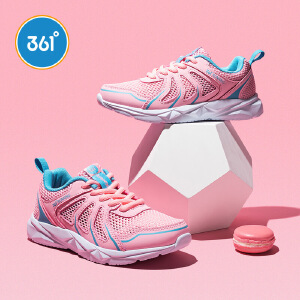 361度 女童跑鞋 2018年夏季新款N818205