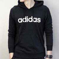 Adidas阿迪达斯 NEO 运动卫衣 连帽保暖套头衫CV9137
