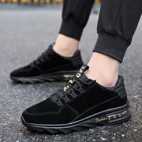 秋季男鞋子韩版潮流气垫运动鞋男士鞋休闲跑步鞋板鞋2017冬季新款