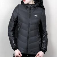 Adidas阿迪达斯 女子 运动休闲羽绒服 保暖羽绒夹克 BQ8752