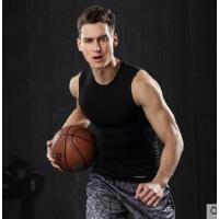 潮运动背心男 速干吸汗弹力打底衣篮球训练无袖t恤健身跑步紧身背心 可礼品卡支付