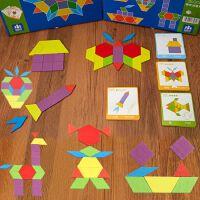 3-6周岁男孩女孩拼拼乐积木七巧板智力拼图早教宝宝儿童玩具