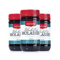 【网易考拉】【有效期至2018-10-01】【缓解经期疼痛】Red Seal 红印黑糖 500克/瓶 3瓶