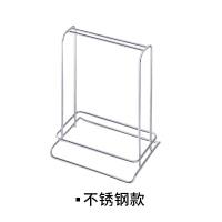 创意不锈钢衣架收纳架 阳台防风多功能整理架家用 不锈钢款