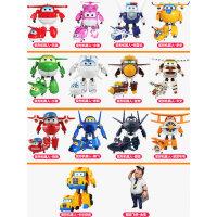 奥迪双钻超级飞侠玩具套装全套大小号乐迪小爱变形机器人雪儿男孩