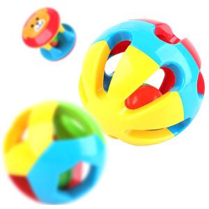 【领券立减50元】米米智玩 婴儿儿童玩具0-1岁儿童益智五彩感官球铃铛球手抓球6-12个月宝宝玩具三件装活动专属