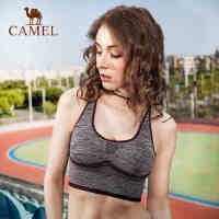 camel骆驼运动内衣女春夏季瑜伽跑步文胸吸湿速干运动背心