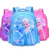 开学书包新款书包冰雪奇缘卡通3d公主女儿童小学生防水减负双肩包女孩书包