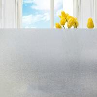 自粘磨砂玻璃贴膜透光不透明办公室卫生间玻璃贴纸不掉胶窗户贴纸 1