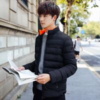 男士外套冬季2017潮流新款男装青年棉衣韩版修身短款棉服加厚棉袄