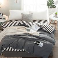 全棉水洗棉被套单件学生宿舍单人床1.5米纯棉床单被罩双人2.2*2.4